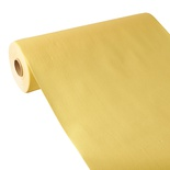 Centrotavola in rotolo 24 m x 40 cm, effetto tessuto, PV-Tissue Mix ''ROYAL Collection''  giallo
