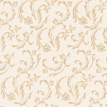 50 Tovaglioli  cm 40x40, ''ROYAL Collection'' piega 1/4, decoro ''Damascato'' champagne