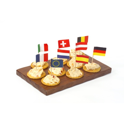 50 Stecchini per party 8 cm ''Nations''