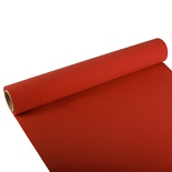 Centrotavola di carta in rotolo 3 m x 40 cm  ''ROYAL Collection''  rosso