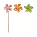 50 Stecchini per party 17,5 cm colori assortiti ''Windmill''
