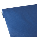 Tovaglia in rotolo 25 m x 1,18 m, tessuto non tessuto ''soft selection plus''  blu scuro