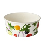 "45 Insalatiere, cartone ""To Go"" 750 ml Ø 15 cm · 6 cm ""Salad"""
