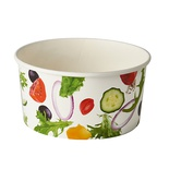 "45 Insalatiere, cartone ""To Go"" 1 l Ø 15 cm · 7,5 cm ""Salad"""