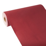 Centrotavola in rotolo 24 m x 40 cm, effetto tessuto, PV-Tissue Mix ''ROYAL Collection''  bordeaux