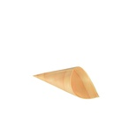 50 Coppette coniche ''Fingerfood'' di legno ''PURE'' Ø 4,5 cm · 8,5 cm