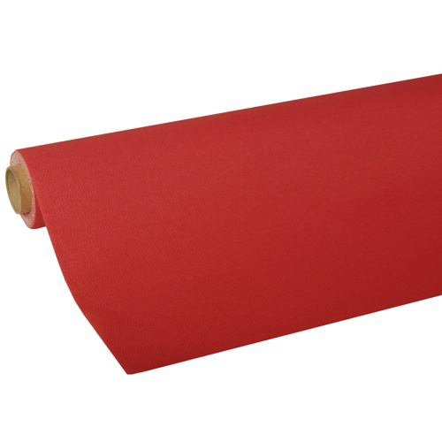 Tovaglia in rotolo 5 m x 1,18 m , Tissue ''ROYAL Collection''  rosso