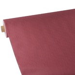 Tovaglia in rotolo 25 m x 1,18 m, tessuto non tessuto ''soft selection plus'' bordeaux